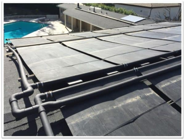 Pool Solar Installation